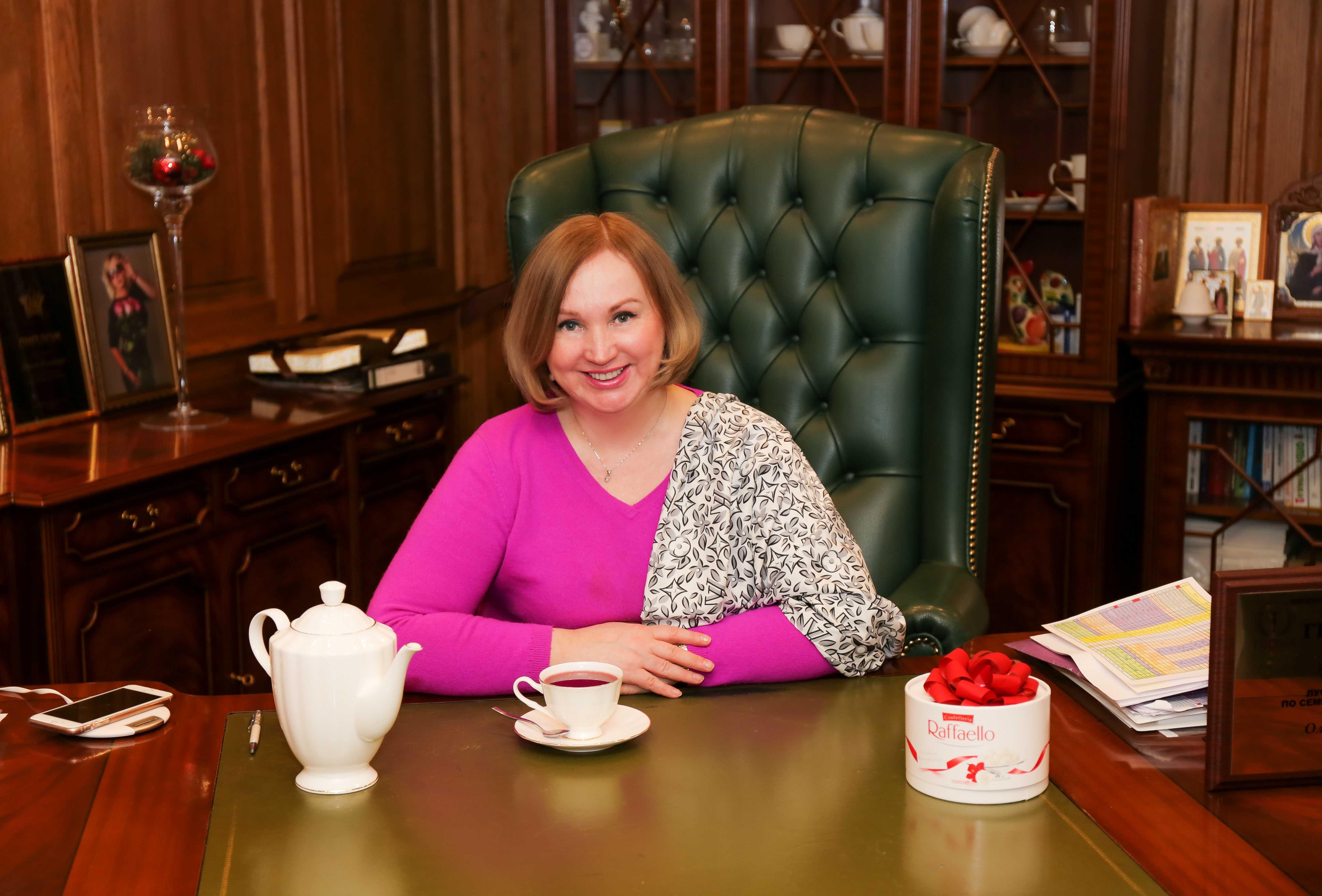 Ольга Романив, Психолог
