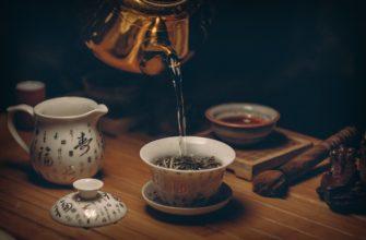 Похудение на зеленом чае